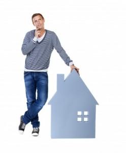 homeowner thinking